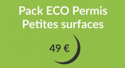 pack eco petites surfaces 400x218 - Pack ECO Permis Petites surfaces