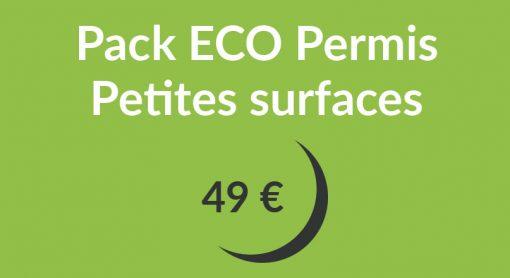 pack eco petites surfaces 510x278 - Pack ECO Permis Petites surfaces