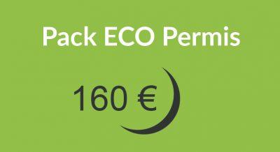 prix 160 400x218 - Pack ECO Permis